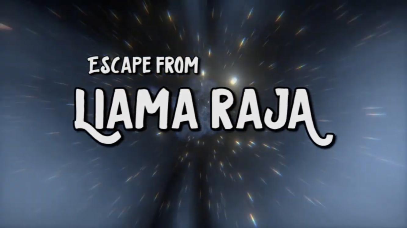 Flyer Liama Raja - Das mobile live escape spiel